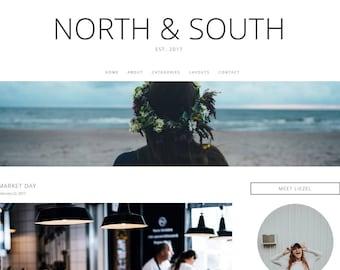 North&South - Responsive WordPress Theme