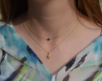 Starfish necklace-necklace sea star