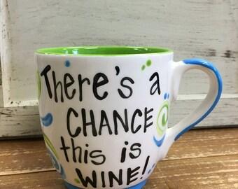 This is Wine Jumbo Mug