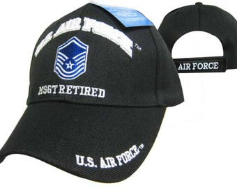 US Air Force MSGT Retired Ball Cap