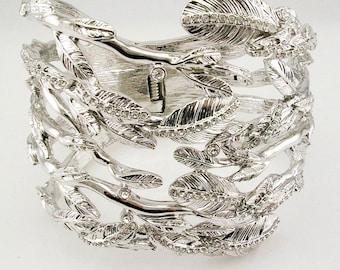 Rachel Zoe Leaf  Cuff Bracelet  Average