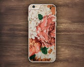 Floral Crochet iPhone Country Rose Case iPhone 6 Case iPhone 6S Case iPhone 5S Case iPhone 5 Case iPhone 5C Case iPhone 7 Case iPhone 4 Case