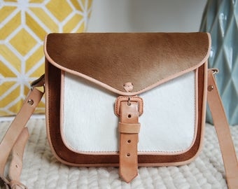 Mexican Purse, Brown Leather Crossbody Purse, Crossbody Bag, Shoulder Purse, Leather Purse, Brown Crossbody, Messenger bag