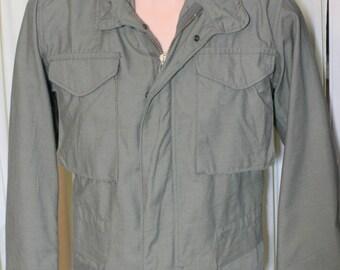 Vintage 80s M65 Field Jacket w/ hood near mint OG 107