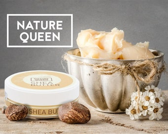 100% Pure Natural Organic RAW SHEA BUTTER Karite Unrefined from Ghana