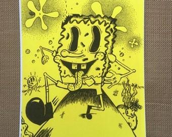 Spongebob Squarepants Print