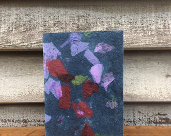 Hand Bound Journal Covered with Handmade Paper