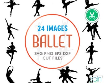 ballerina silhouette, ballet svg, ballet clipart, ballerina svg, ballerina clipart, ballerina decal, Svg File For Cricut, Cuttable Files
