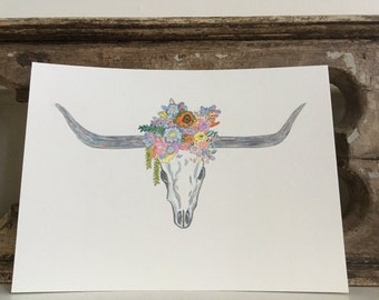Longhorn Artwork