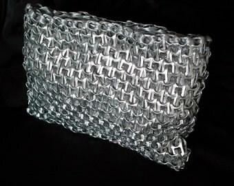 "Purse metal with silver ribbon  - ""Torino"""