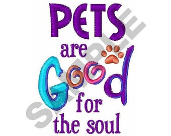 Pets - Machine Embroidery Design