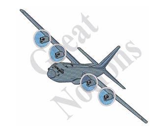 C-130 Hercules - Machine Embroidery Design