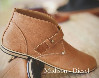 Madison Leather Boots