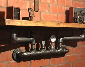 Industrial pipe shelf by EiD