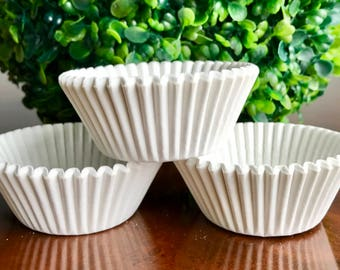 White Cupcake Liners