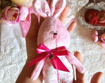 Bunny, Bunny toy, Rabbit, Teddy Bunny, Handmade Bunny