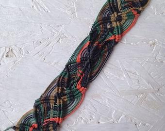 Psychedelic ankle bracelet