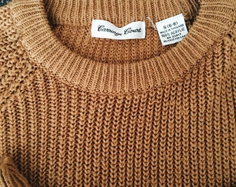 Pullover Fisherman Sweater