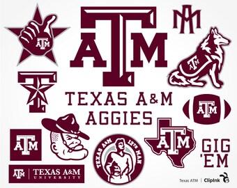 Texas ATM svg, ATM clipart, Texas Aggies svg, Aggies clipart, Texas A&M svg, digital – svg, eps, png, dxf, pdf. Cut Print Mug Shirt Decal.