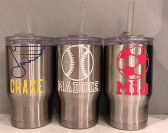 Personalized Stainless Steel Coldee Kids 14oz Tumblers