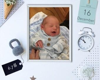 Baby Boy- Name Blocks