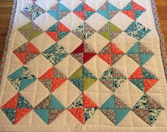 All around the square quilt pattern