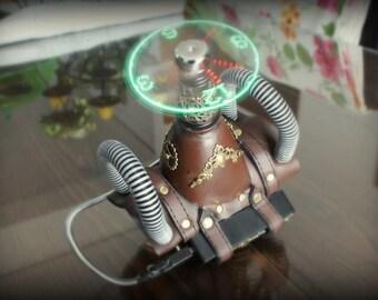 Steampunk Led Clock Bracelet Cosplay