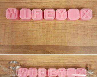 Personalised wax melts