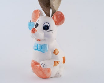 Ceramic Spoon Holder in a shape of a Mouse