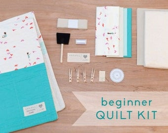 Free As A Bird - DIY Baby Quilt Kit for Beginner Sewists and Quilters