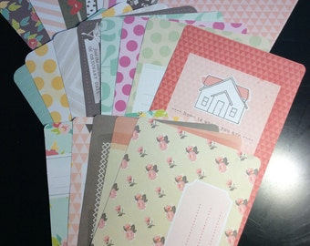 Project Life Destash-5th and Frolic 20 4x6 Journaling Cards