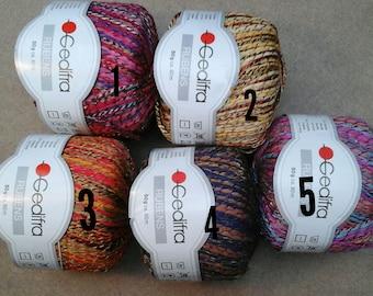 yarn Rubens Gedifra yarn Rayon yarn colored yarn multicolor yarn Yarn for jackets
