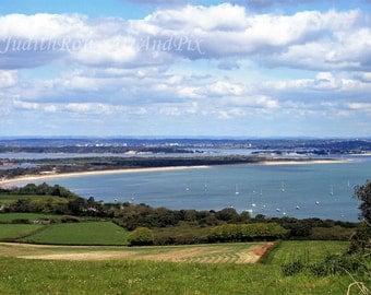 Seascape Photograph - Poole Harbour - Instant Download