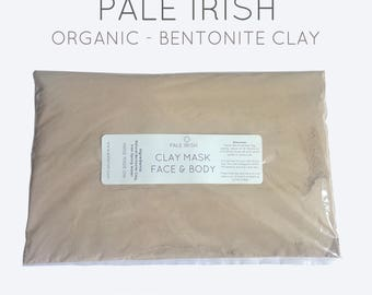 250g (8.8oz) High Quality Food Grade Calcium Bentonite Healing Clay Fullers Earth Organic Health