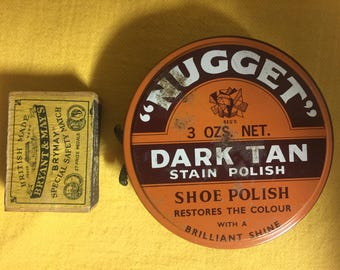 Nugget Rarer 3oz Larger Tin Still With Some Contents Williamstown Vic