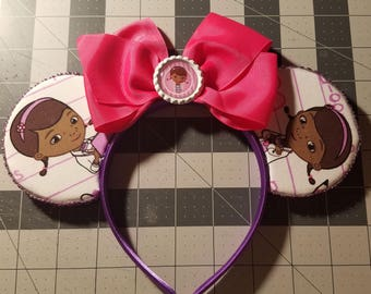 Doc Mcstuffins Inspired Mouse Ears