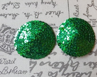 Green nipple pasties