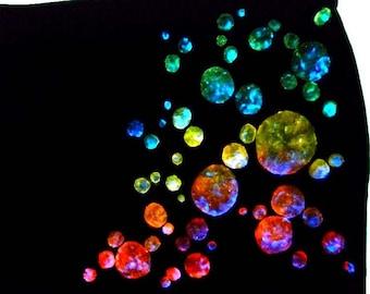 Stretchrock bubbles, black, L