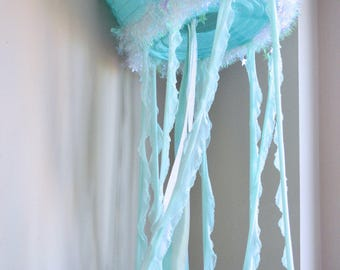 Large Hanging Jellyfish
