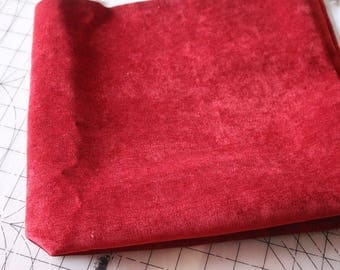 4 Upholstery fabric red/maroon 4
