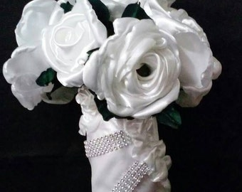All Rose Bridal Bouquet