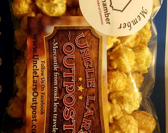 Gluten Free, No preservatives - Airpopped Handmade Toffee Popcorn
