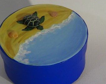 Blue turtle box