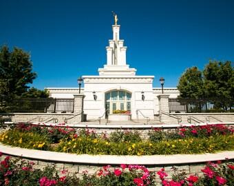 Columbia River Temple Photo