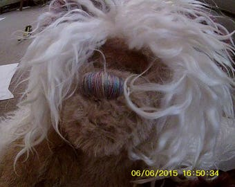 Trina (cloven hooved winged sleeping/kissing goat bear)
