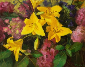 Yellow Lilies (frame)