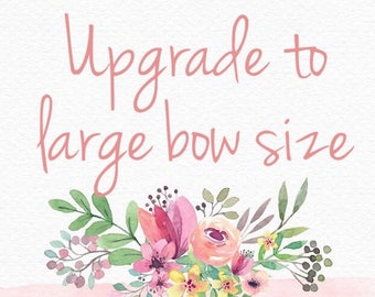 Larger Bow Size