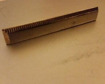 Swank Sterling Silver Tie Clip