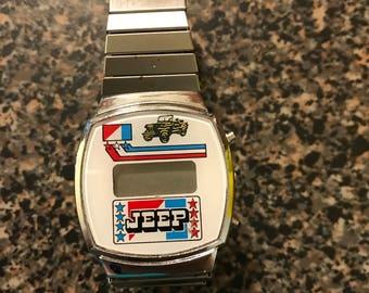Vintage AMC/Jeep Digital Watch