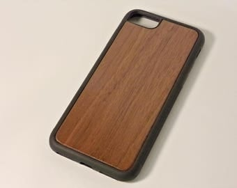 iPhone 7 Wood Phone Case - Walnut